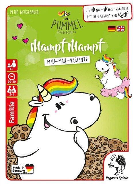 Pummeleinhorn: Mampf Mampf (MauMau) -