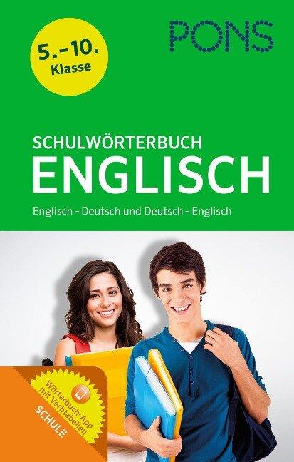 PONS Schulwörterbuch Englisch -