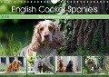 English Cocker Spaniels - Ein Spaziergang im Park (Wandkalender 2019 DIN A4 quer) - Fotodesign Verena Scholze