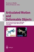 Articulated Motion and Deformable Objects -