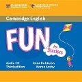 Fun for Starters Audio CD - Anne Robinson, Karen Saxby