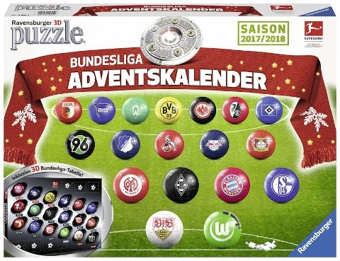 Bundesliga Adventskalender 2017 -