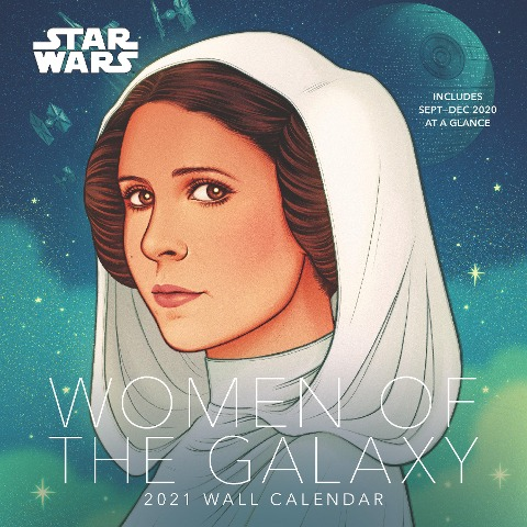 Star Wars Women of the Galaxy 2021 Wall Calendar -
