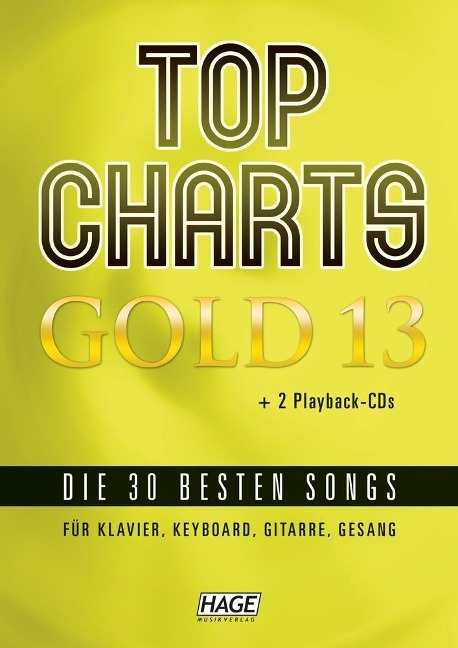 Top Charts Gold 13 (mit 2 CDs) -
