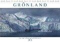 Grönland, ein Leben mit Eisbergen und Polarlichtern (Tischkalender 2018 DIN A5 quer) - Joana Kruse