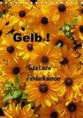Gelb (Tischkalender 2018 DIN A5 hoch) - Gaby Rottmann