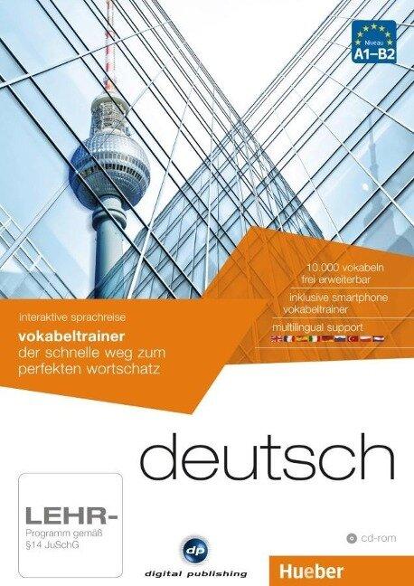interaktive sprachreise vokabeltrainer deutsch -