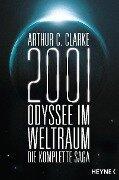 2001: Odyssee im Weltraum - Die Saga - Arthur C. Clarke