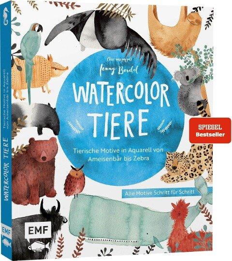 Watercolor-Tiere - Jenny Boidol