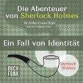 Die Abenteuer von Sherlock Holmes . Ein Fall von Identität - Arthur Conan Doyle