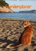 Familienplaner Katzen (Wandkalender 2018 DIN A2 hoch) - Antje Lindert-Rottke