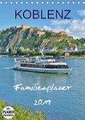 Koblenz Familienplaner (Tischkalender 2019 DIN A5 hoch) - Jutta Heußlein
