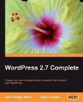 WordPress 2.7 Complete - April Hodge Silver