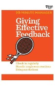 Giving Effective Feedback - Harvard Business Review