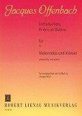 Introduction, Prière et Boléro - Jacques Offenbach