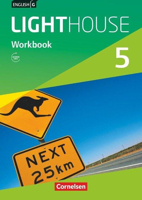 English G LIGHTHOUSE Band 5: 9. Schuljahr - Allgemeine Ausgabe - Workbook Audios online - Gwen Berwick, Sydney Thorne