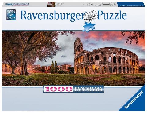Colosseum im Abendrot 1000 Teile Puzzle -