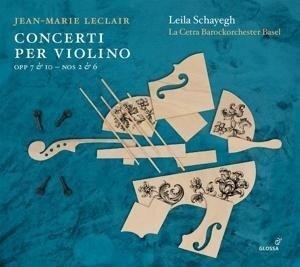 Jean Marie Leclair. Violinkonzerte op.7 Nr. 2 & 6 und op.10 Nr. 2 & 6 - Jean-Marie Leclair