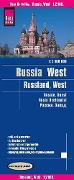 Reise Know-How Landkarte Russland West 1 : 2.000 000 -