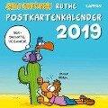 Shit Happens Postkartenkalender 2019 - Ralph Ruthe