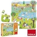 Goula Puzzle XXL Ein Tag auf dem Land - 16 Teile -