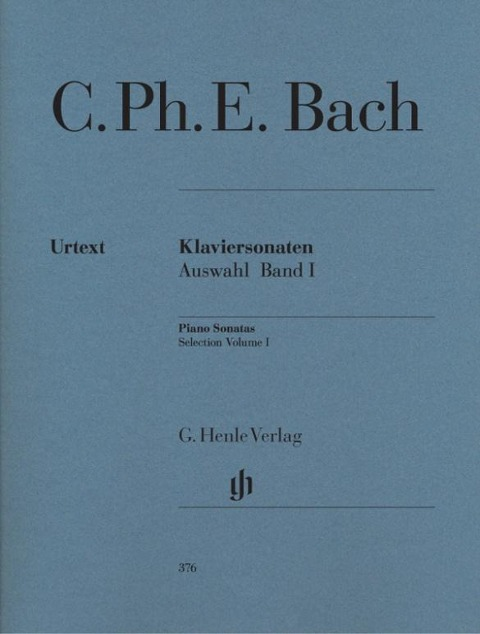 Klaviersonaten, Auswahl, Band I - Carl Philipp Emanuel Bach