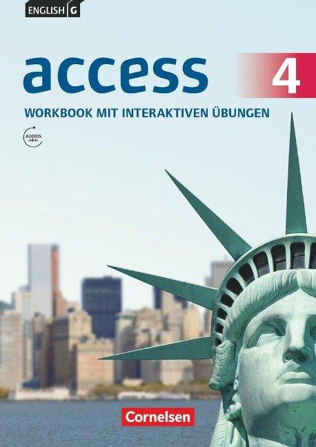 English G Access Band 4: 8. Schuljahr - Allgemeine Ausgabe - Workbook mit interaktiven Übungen auf scook.de - Jennifer Seidl
