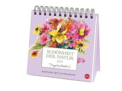 Schönheit der Natur Postkartenkalender 2022 - Marjolein Bastin