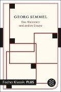 Das Abenteuer und andere Essays - Georg Simmel