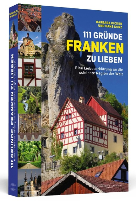 111 Gründe, Franken zu lieben - Barbara Dicker, Hans Kurz
