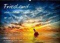 Friesland - verzauberte Landschaft an der Nordsee / CH-Version (Wandkalender 2018 DIN A2 quer) - Peter Roder