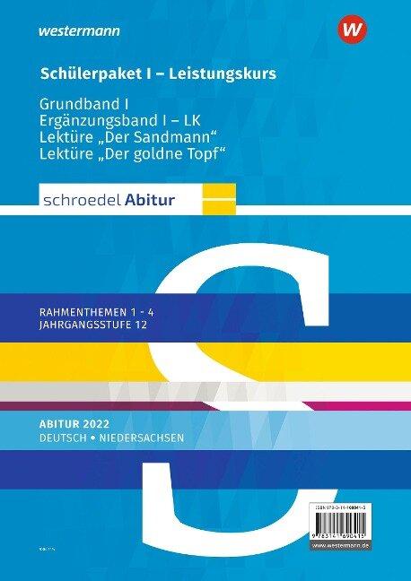 Schroedel Abitur. Deutsch. Schülerpaket I LK zum Abitur 2022. Niedersachsen -