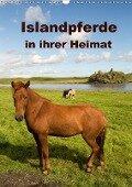 Islandpferde in ihrer Heimat (Wandkalender 2018 DIN A3 hoch) - Winfried Rusch