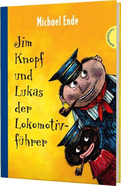 Jim Knopf und Lukas der Lokomotivführer. Kolorierte Neuausgabe - Michael Ende