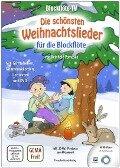 Blockflöte-TV: Die schönsten Weihnachtslieder für die Blockflöte - incl. DVD mit Lehrvideos und Playbacks zum Mitspielen - Reinhold Pomaska