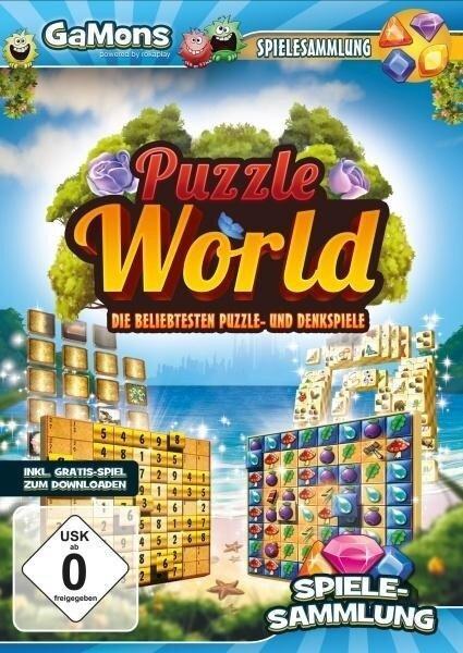 GaMons - Puzzle World. Für Windows Vista/7/8/8.1/10 -