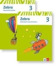 Zebra. Neubearbeitung. Paket (Arbeitsheft Sprache und Arbeitsheft Lesen und Schreiben) 3. Schuljahr -