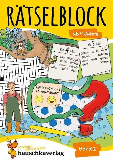 Rätselblock ab 9 Jahre, Band 2, A5-Block - Agnes Spiecker