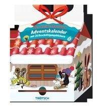 Trötsch Der kleine Maulwurf Adventskalender Haus mit 24 Minibüchern -