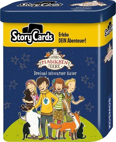 Story Cards Die Schule der magischen Tiere - Dreimal schwarzer Kater - Margit Auer