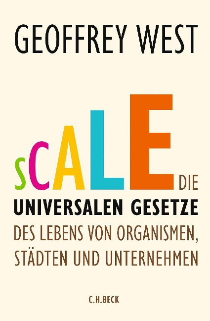 Scale - Geoffrey West