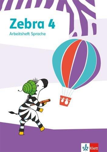 Zebra 4. Arbeitsheft Sprache -
