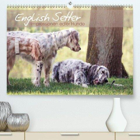 English Setter - Impressionen edler Hunde (Premium, hochwertiger DIN A2 Wandkalender 2020, Kunstdruck in Hochglanz) - k. A. Visovio