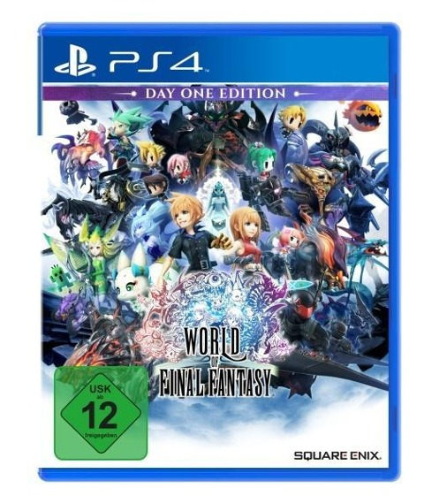 World of Final Fantasy D1 Edition (PlayStation PS4) -