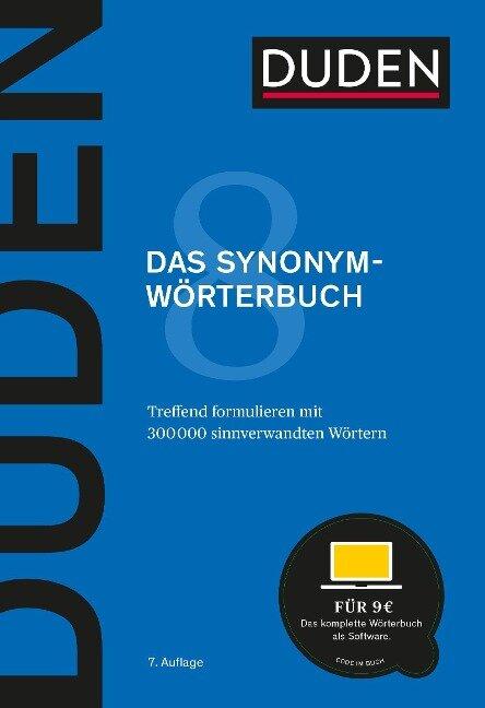 Duden - Das Synonymwörterbuch -