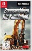 Baumaschinen - Die Simulation. Nintendo Switch -