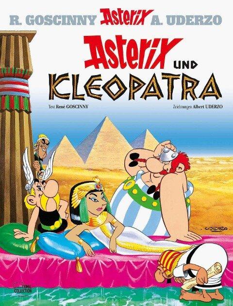 Asterix 02: Asterix und Kleopatra - René Goscinny, Albert Uderzo