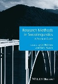 Research Methods in Sociolinguistics - Janet Holmes
