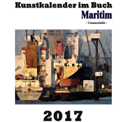 Kunstkalender im Buch Maritim 2017 - Pierre Sens