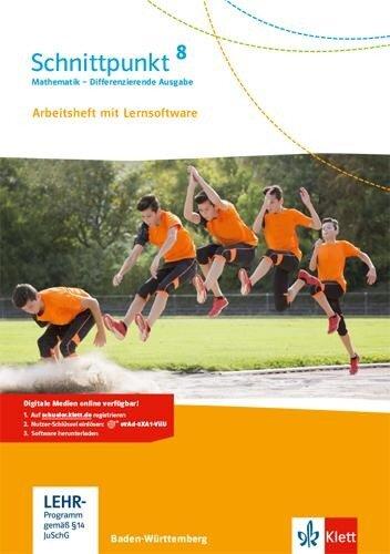 Schnittpunkt Mathematik - Differenzierende Ausgabe für Baden-Württemberg. Arbeitsheft mit Lösungsheft und Lernsoftware 8. Schuljahr -